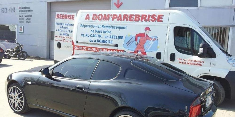 Adom Pare Brise, société familiale à Maromme près de Rouen