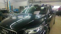Réparation de pare brise sur véhicule de luxe